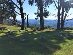 Cromlech sur le massif du Manddale