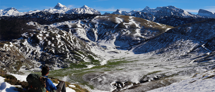 Des paysages de haute montagne