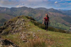 Randonnée Pays Basque Halzamendi Baigura